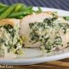 Spinach & Artichoke Stuffed Chicken Breasts