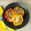 Taco Stuffed Pepper Rings - Low Carb, THM S
