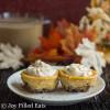 Pecan Crusted Pumpkin Breakfast Cheesecakes