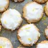 Iced Lemon Cookies - Low Carb, Grain & Sugar Free, THM S
