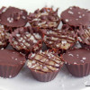 Salted Caramel Cups - Low Carb, Sugar Free, THM S