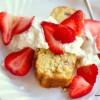 Strawberry Shortcake Pound Cake