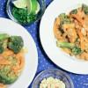 Thai Peanut Shrimp THM S
