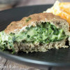 Stuffed Turkey Burgers with Spinach & Three Cheeses