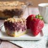 Blackberry Coffee Cake - Low Carb, Grain/Dairy/Sugar Free, THM S
