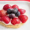 Mini Fruit Pizza Cookies - Low Carb, Grain Free, THM S