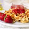Classic Vanilla Waffles - Low Carb, Grain Free, THM S