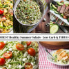 20 Healthy Summer Salads - Low Carb & THM S