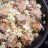 Skillet Basil & Tomato Meatballs - Low Carb, Grain Free, THM S