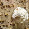 Maple Ice Cream with Candied Walnuts