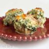 Tuscan Stuffed Mushrooms - Low Carb, THM S, Keto