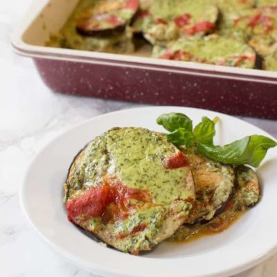 Baked Eggplant Gratin – Paleo, Low Carb, THM S