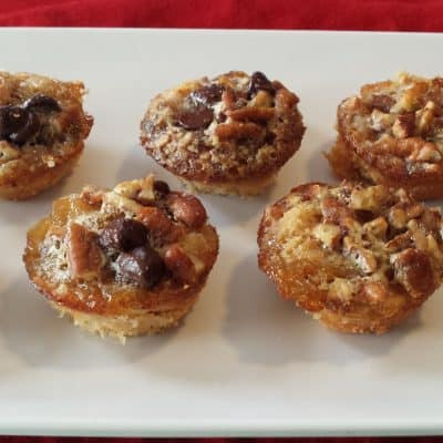Pecan Cup Cookies – Low Carb, Grain Free, THM S