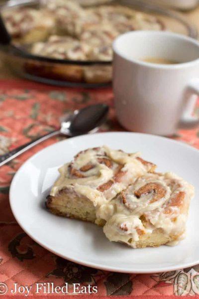 Healthy Gluten Free Cinnamon Rolls – Low Carb, THM S