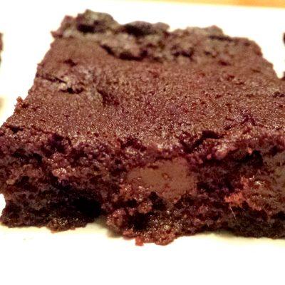 Chocolate Fudge Flourless Brownies THM S