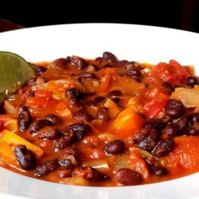 Caribbean Black Bean Chili