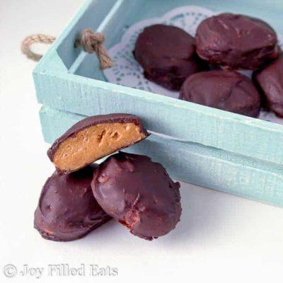Peanut Butter Eggs Recipe – Low Carb Keto THM S