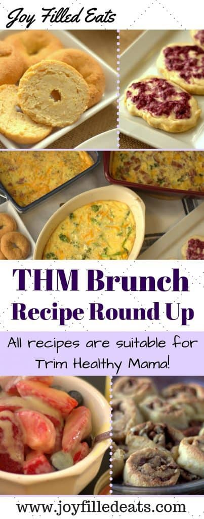 pinterest image for THM Brunch recipe round up