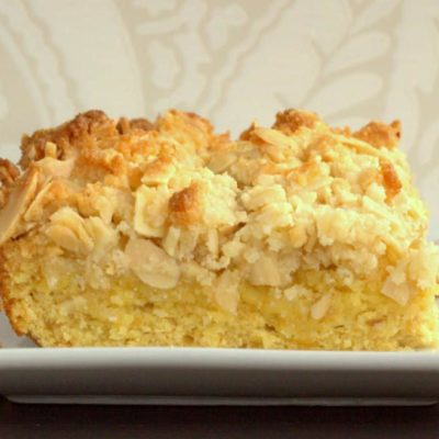 Almond Crumb Cake Recipe – Low Carb, Keto, THM S