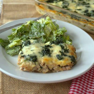 Lazy White Lasagna – Low Carb, Keto, Gluten Free, THM