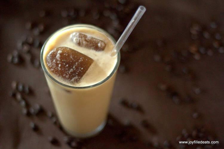 Copycat Starbucks SF Vanilla Latte Frappuccino - Gluten/Grain/Sugar FREE, LOW CARB