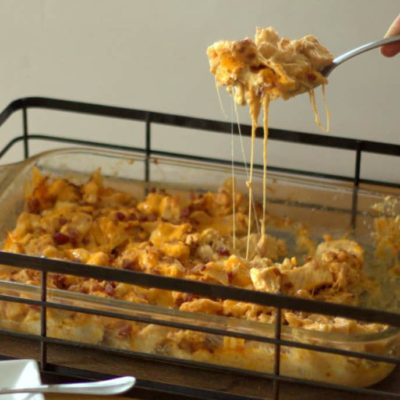 Barbecue Chicken Bacon Casserole – Low Carb, THM S