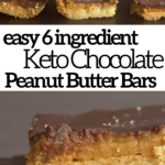 pinterest image for tagalong peanut butter cookie bars