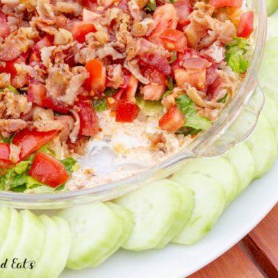 BLT Dip – Keto, Low Carb, Gluten Free, THM S