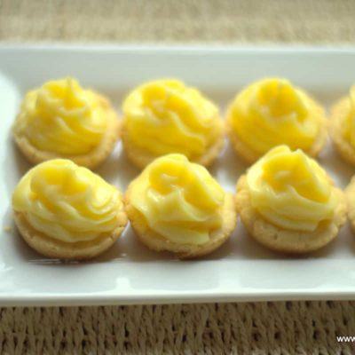 Mini Lime Tartlets – Low Carb, Gluten & Sugar Free