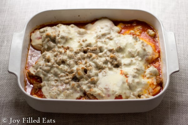 Casserole of This Italian Sausage Baked Chicken