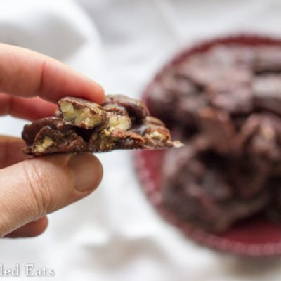 Chocolate Pecan Pralines – Low Carb & Sugar Free