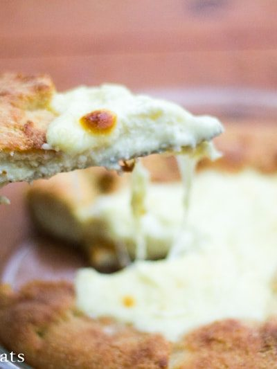 Cheese Calzone Pie – Low Carb, Grain Free, THM S
