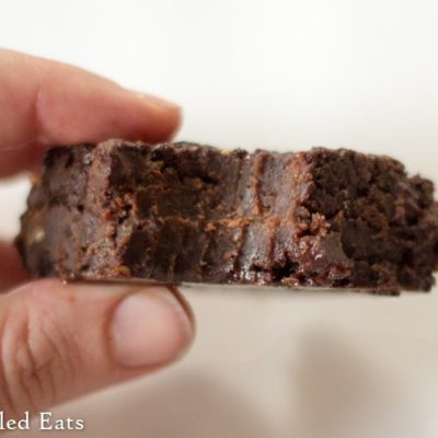 Fudgy Brownies with Coconut Oil – Sugar & Dairy Free