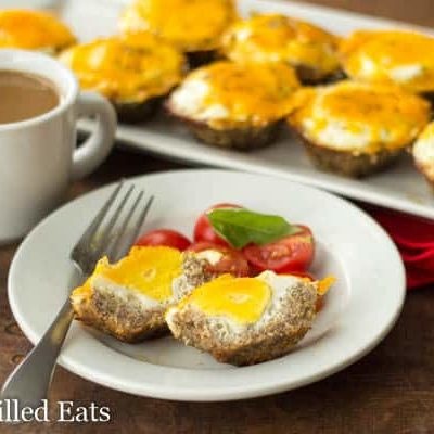Sausage Egg Muffins – Healthy, Low Carb, Keto, THM S