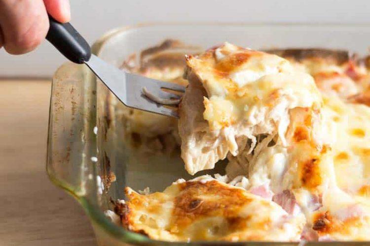 Chicken Cordon Bleu Casserole – Low Carb, Keto, Easy