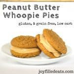 pinterest image for peanut butter whoppie pies