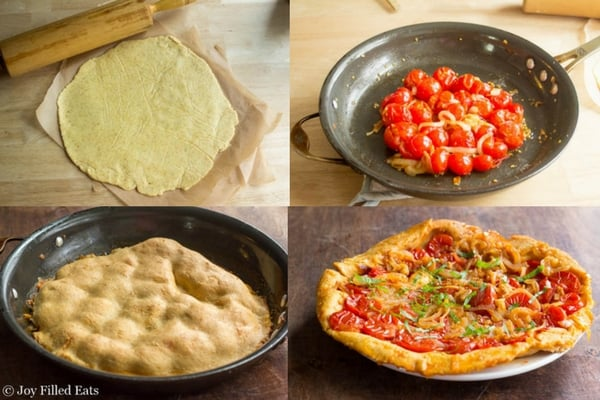 premium selection 906f2 a75b9 Rustic Tomato Tart - Low Carb, Grain Free, THM S