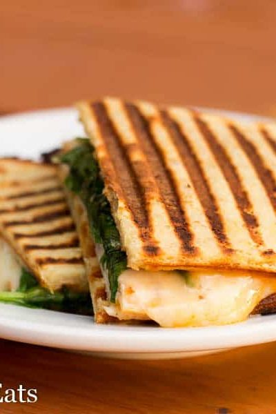 Low Carb Panini – Turkey Chipotle & Pepperoni Pizza