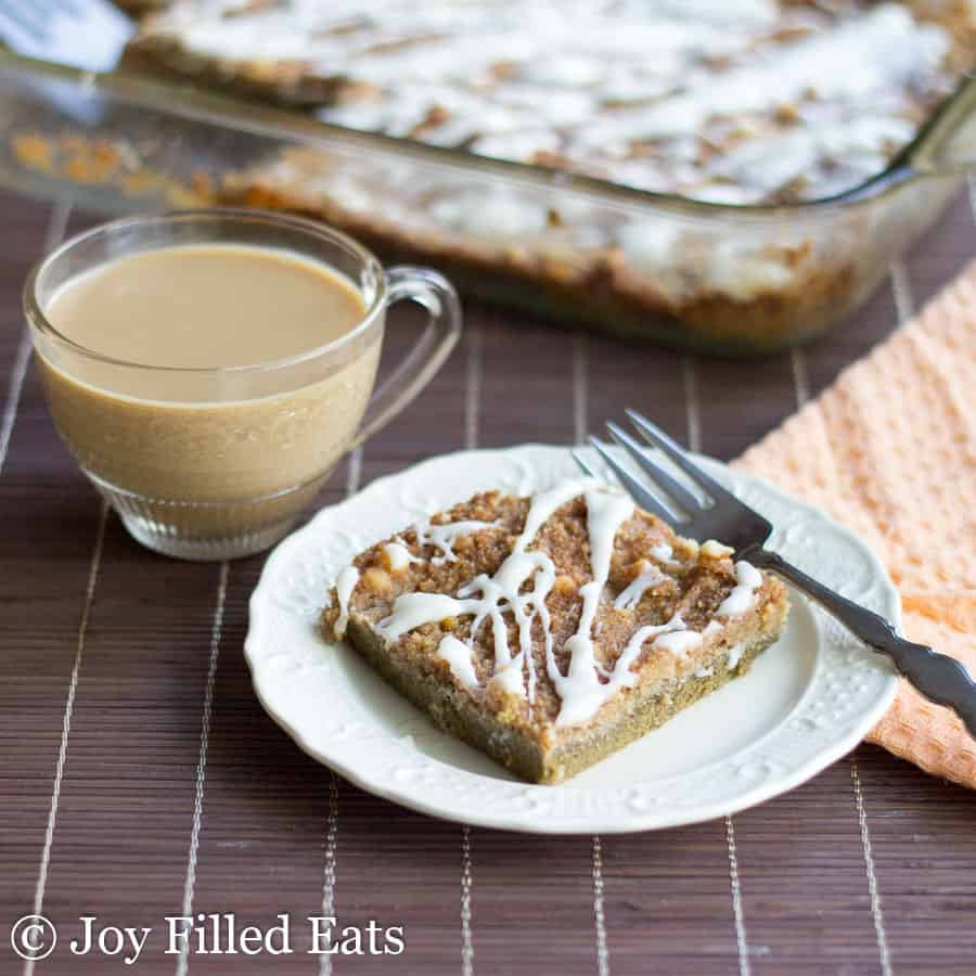 Pumpkin Pie Dump Cake - Low Carb, Sugar Free, THM S