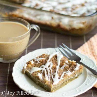 Pumpkin Dump Cake – Low Carb, Keto, THM S
