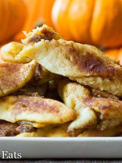 Keto Pumpkin Pie Twists Low Carb Gluten Free THM S