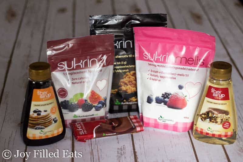packages of Surkin products