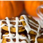pinterest image for keto pumpkin pancakes