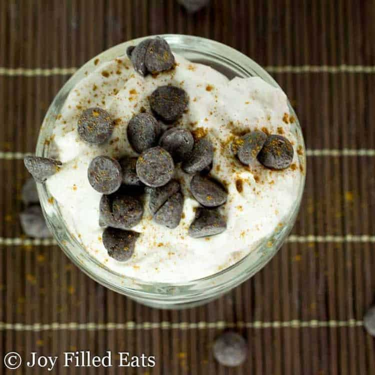 Whipped Cannoli Mousse - Low Carb, Sugar Free, THM S