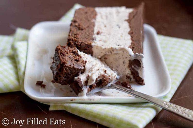 Mint Chocolate Chip Ice Cream Cake – Low Carb Keto