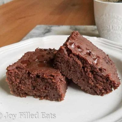 Hannah's Fabulous Low Carb Brownie Recipe – THM S