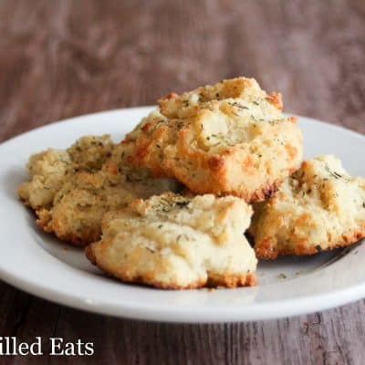 Easy Herb Biscuits – Low Carb, Grain Gluten Free, THM S