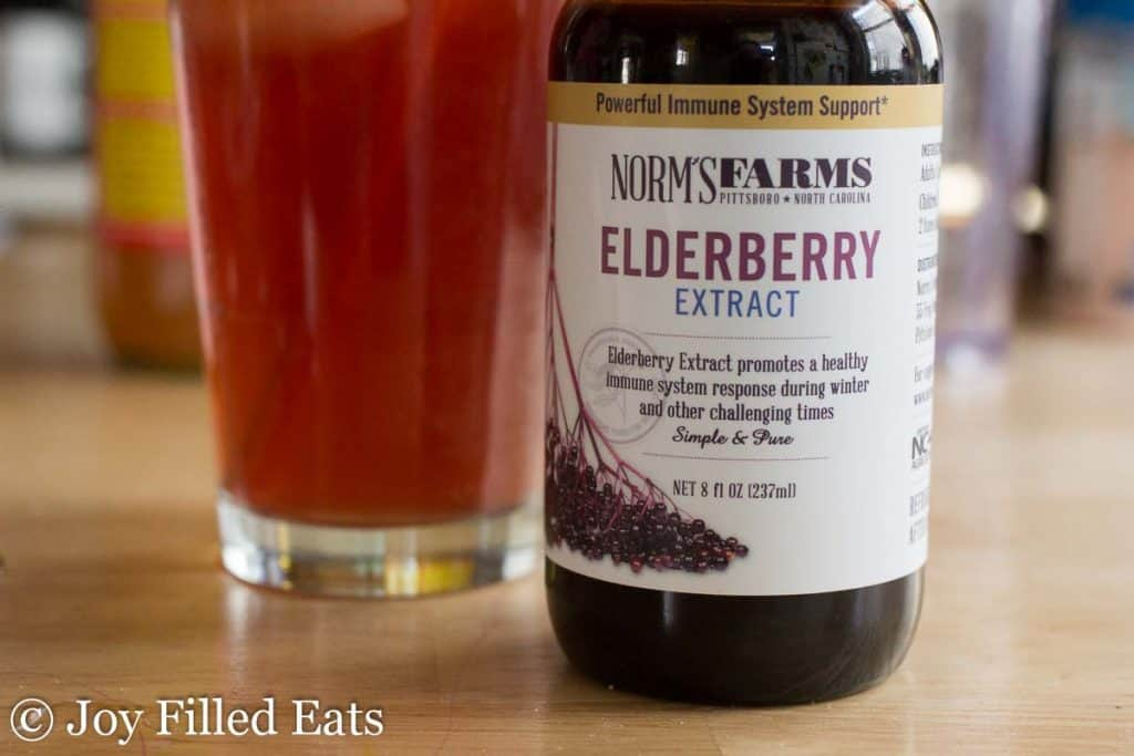 Elderberry Good Girl Moonshine - Low Carb, Sugar Free, THM FP