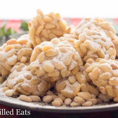 Pignoli Cookies – Low Carb, Sugar Free, THM S