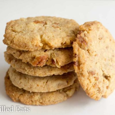 Butter Pecan Cookies – Low Carb, Keto, GF, THM S